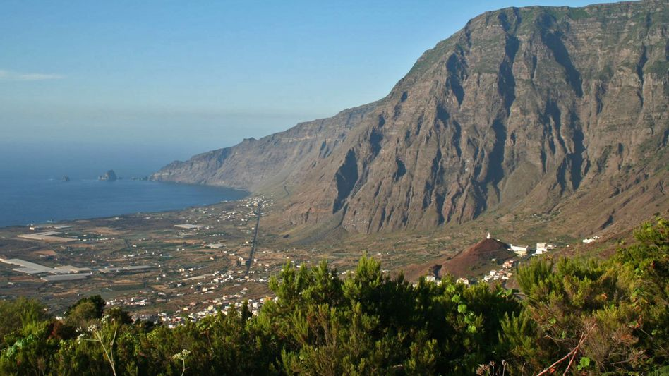 Das El-Golfo-Tal auf der Kanaren-Insel El Hierro: Entwarnung nach Monaten