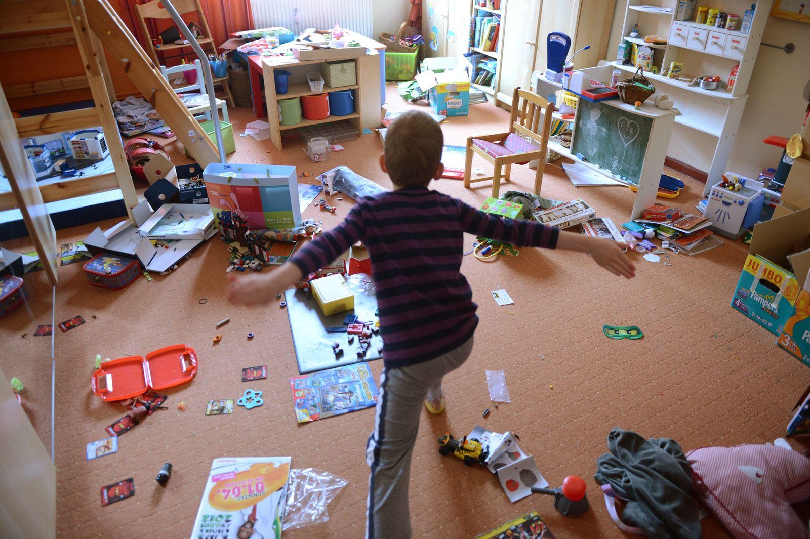 Spielzeug im Kinderzimmer