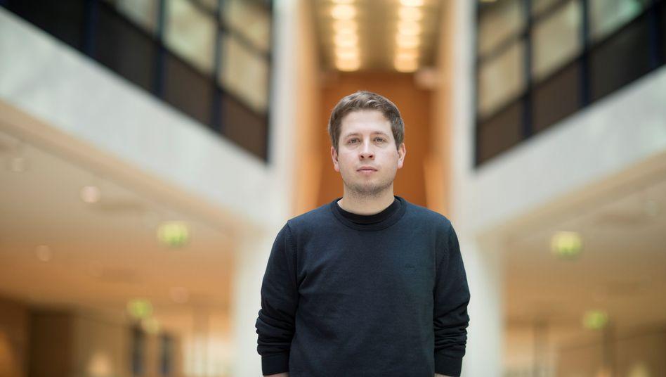 Kevin Kühnert im Willy-Brandt-Haus
