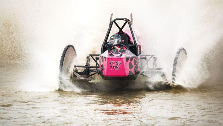 Sumpf-Buggy-Rennen: Schlammschlacht in den Everglades