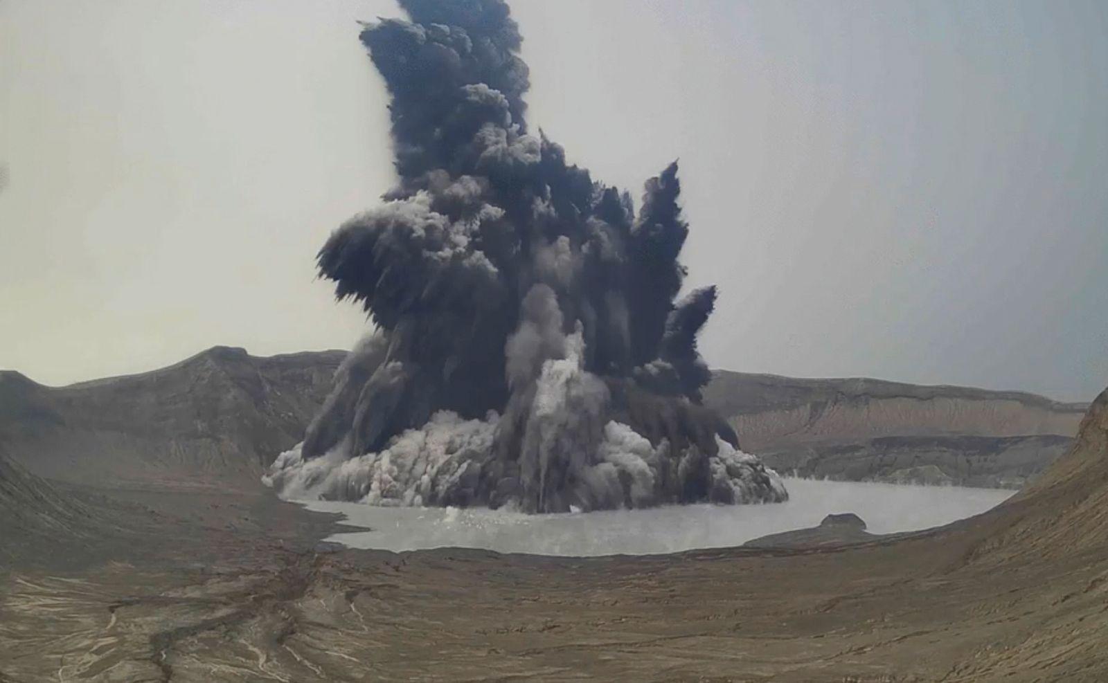 Vulkan Taal auf den Philippinen