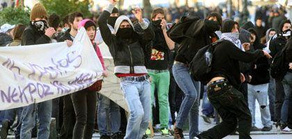 Unruhen in Thessaloniki: Weitere Protestveranstaltungen angekündigt