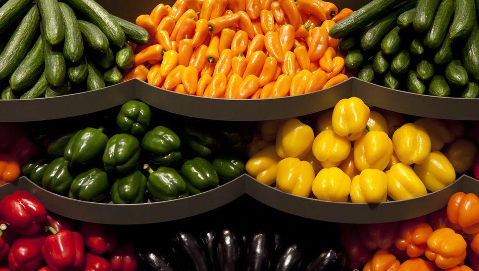 Stand auf der Grünen Woche: Sekundäre Pflanzenstoffe sorgen für Farbvielfalt beim Gemüse