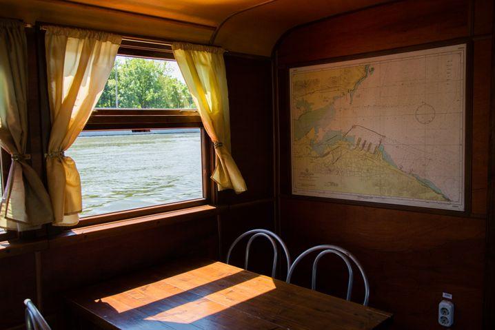 Blick ins Innere des Schiffes