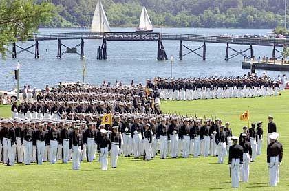 US Naval Academy in Annapolis: Kadetten der Kaderschmiede nutzten das Militär-Netzwerk für P2P-Anwendungen