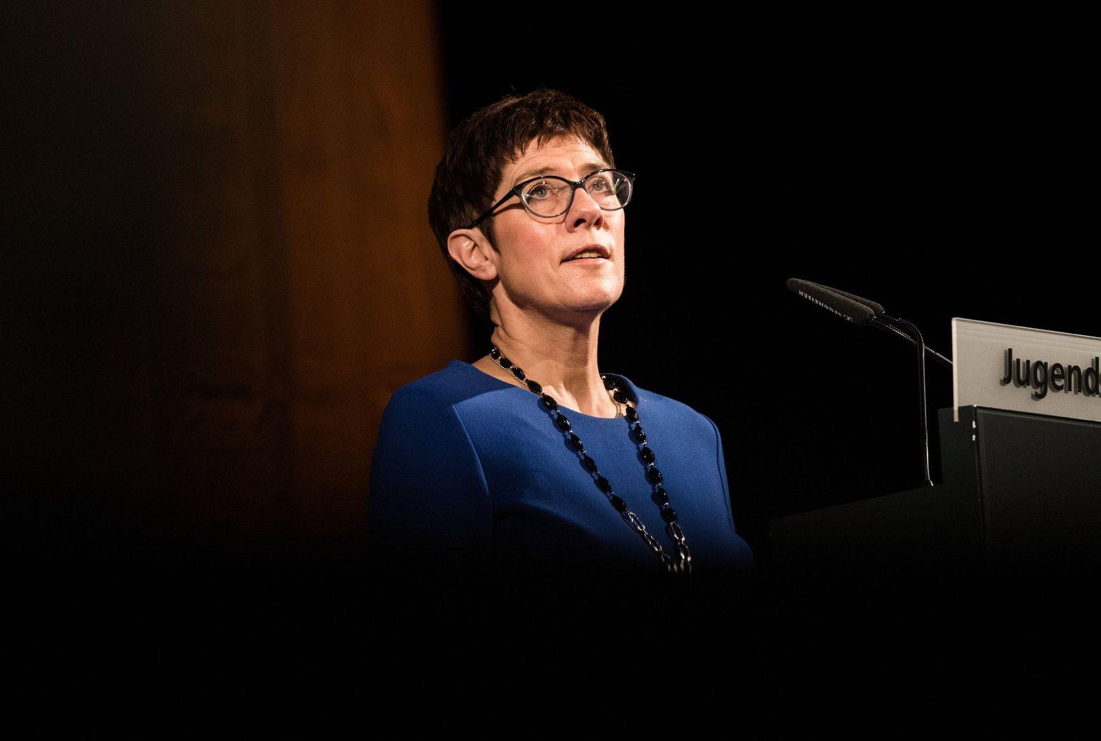 CDU Generalsekretärin Annegret Kramp-Karrenbauer