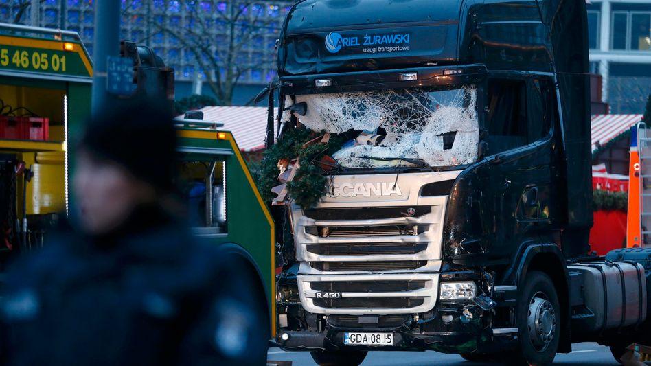 Tatfahrzeug am Breitscheidplatz