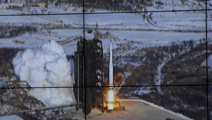 Raketenstart: Nordkorea bringt Satelliten in den Orbit
