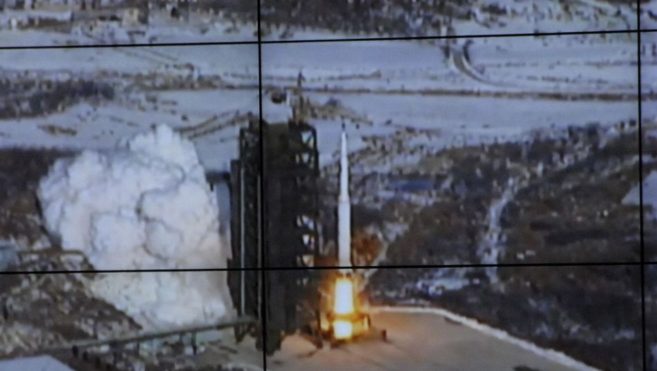 Raketentest: Schreckschuss aus Nordkorea