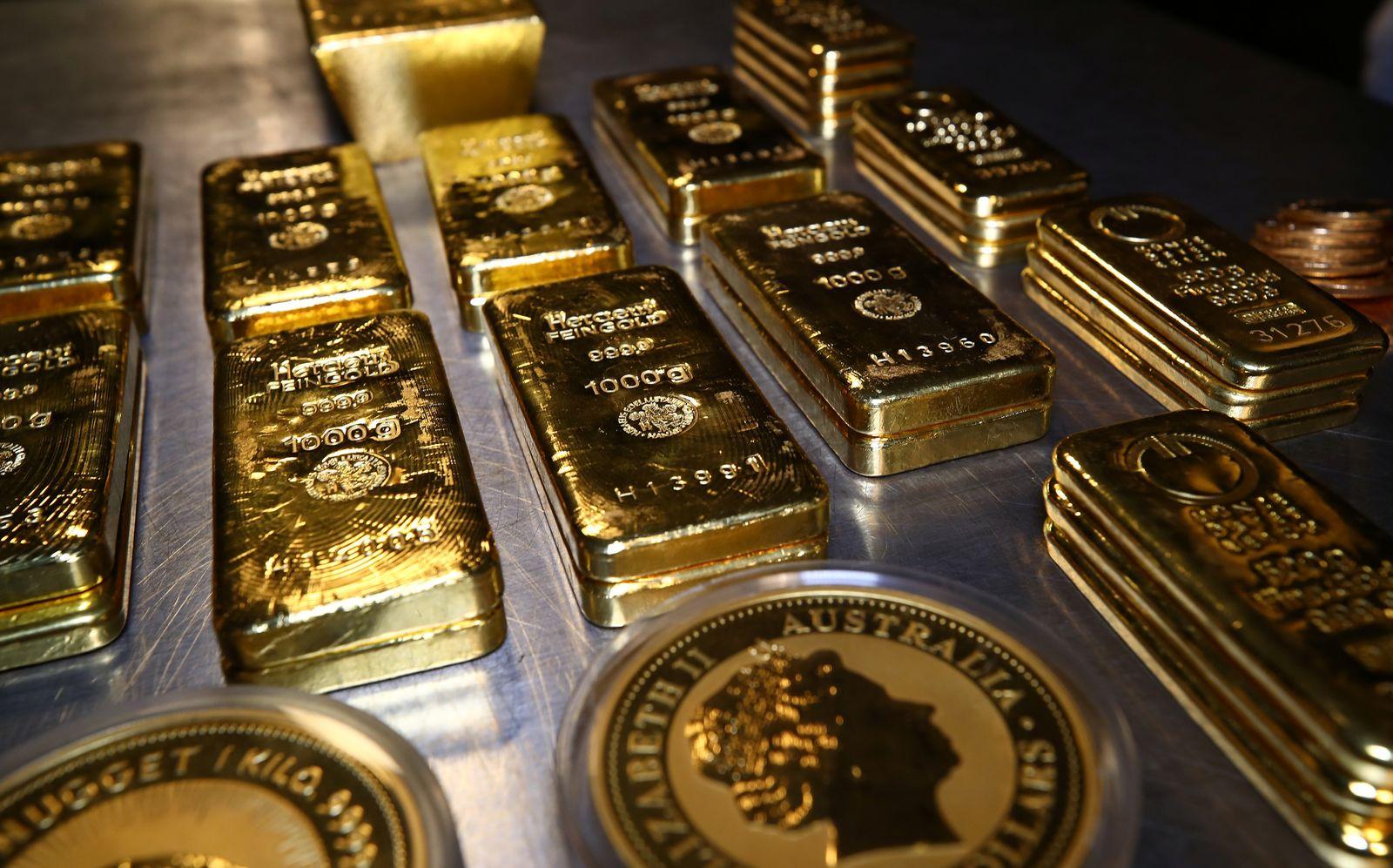 Goldbarren / Gold