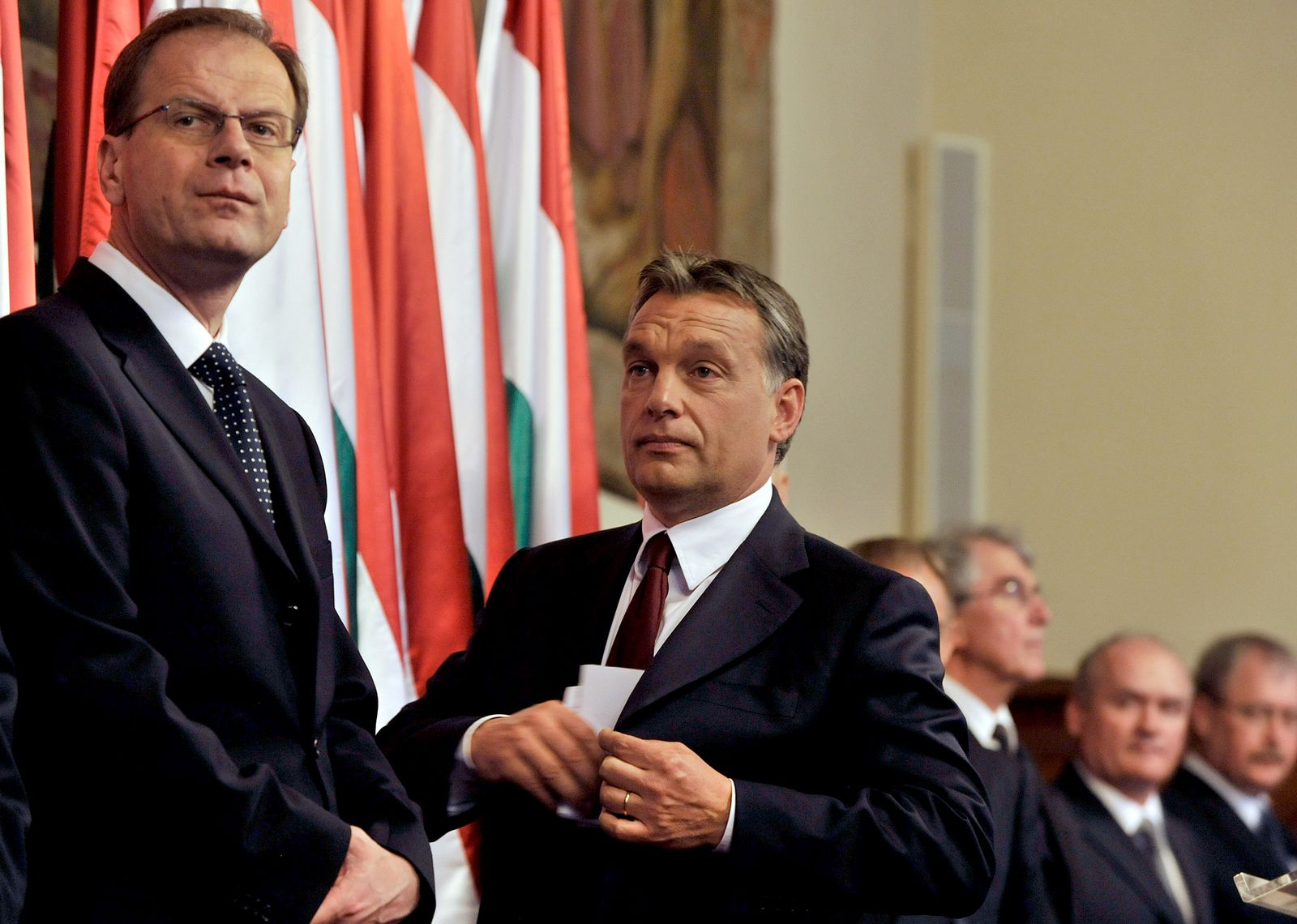 Tibor Navracsics & Viktor Orban