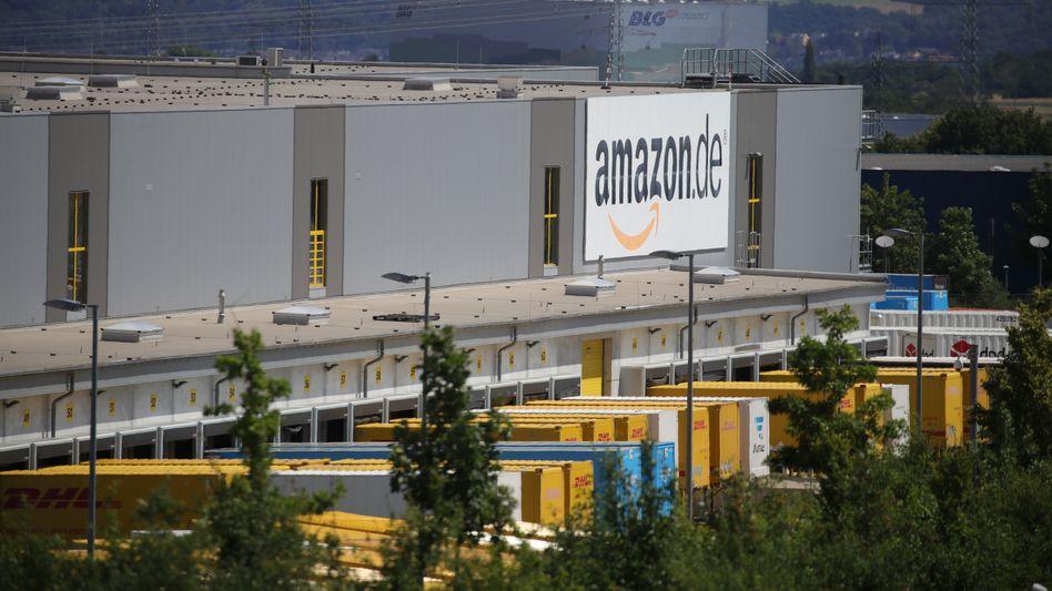 Amazon-Lager in Bad Hersfeld: Tarifvertrag gefordert
