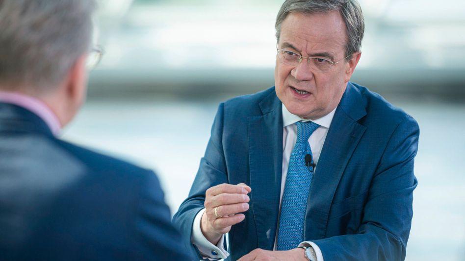 Laschet im ZDF-Sommerinterview: Wird man so Kanzler?