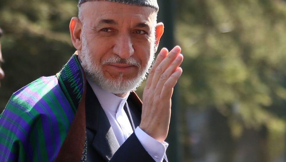 """Afghanistans Präsident Karzai: """"Historische Gelegenheit"""" für Frieden mit Taliban"""