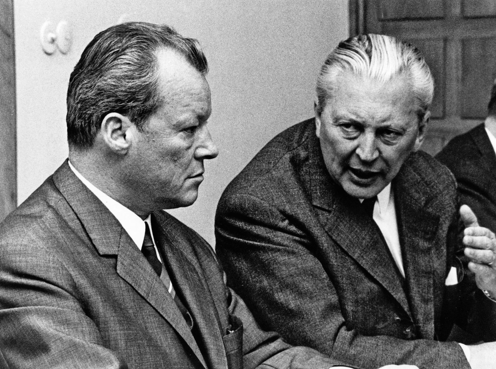 Kiesinger / Willy Brandt