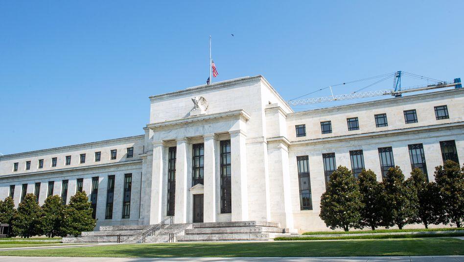 US-Notenbank Fed in Washington: Noch einmal 300 Milliarden Dollar
