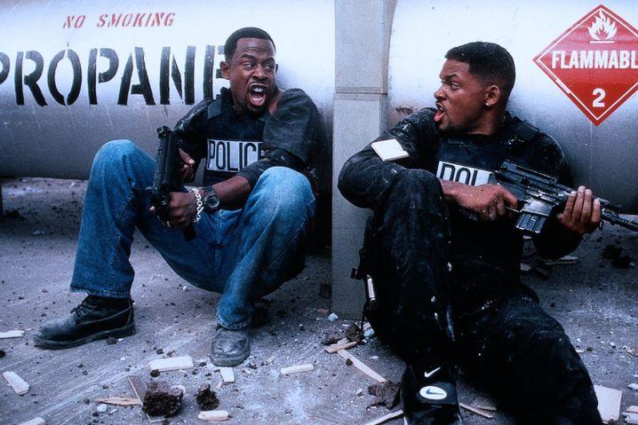 """Martin Lawrence und Will Smith frotzelten sich lässig durch """"Bad Boys"""""""