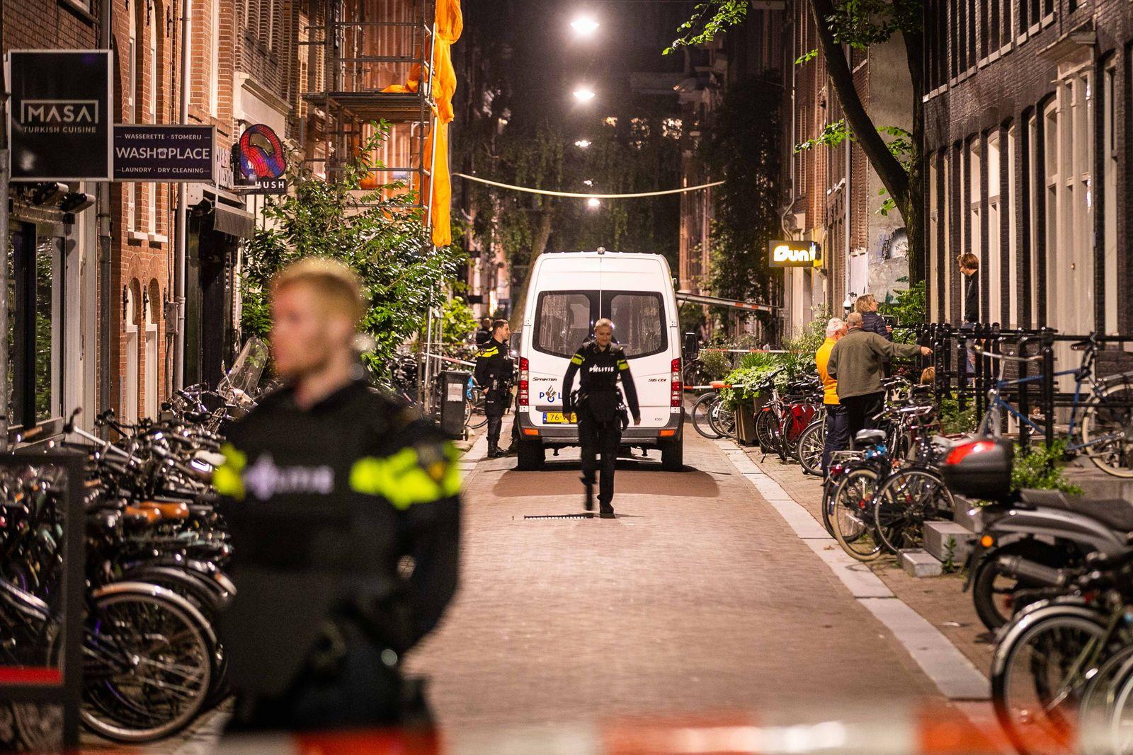 Peter R. de Vries shot in Amsterdam