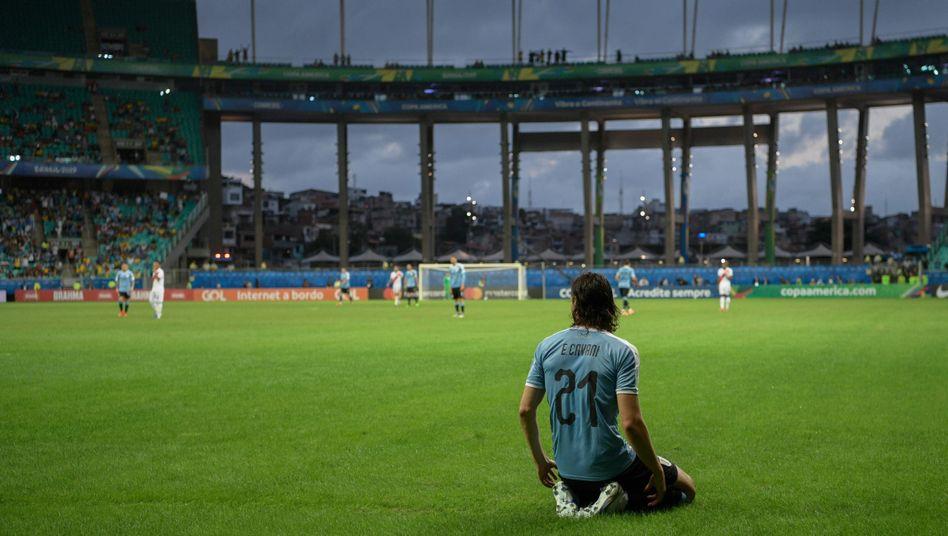 Die Stars wie Uruguays Edinson Cavani waren eine Enttäuschung bei dieser Copa