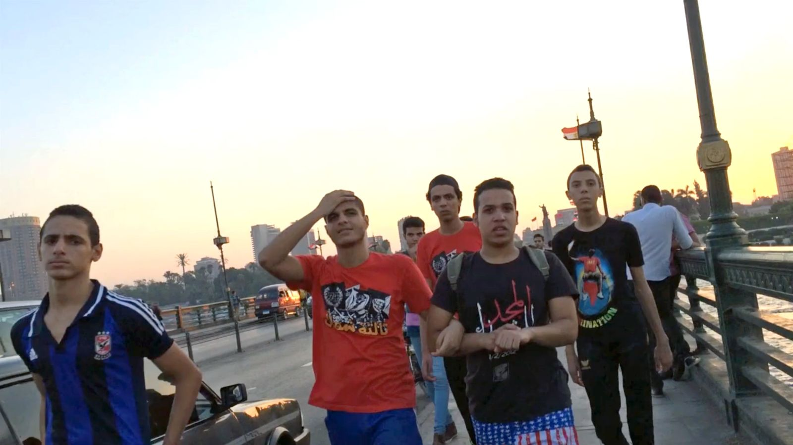 NUR ALS ZITAT Creepers on the Bridge/ Screenshot