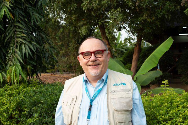 Jean Lieby leitet das Unicef-Kinderschutzprogramm im Südsudan
