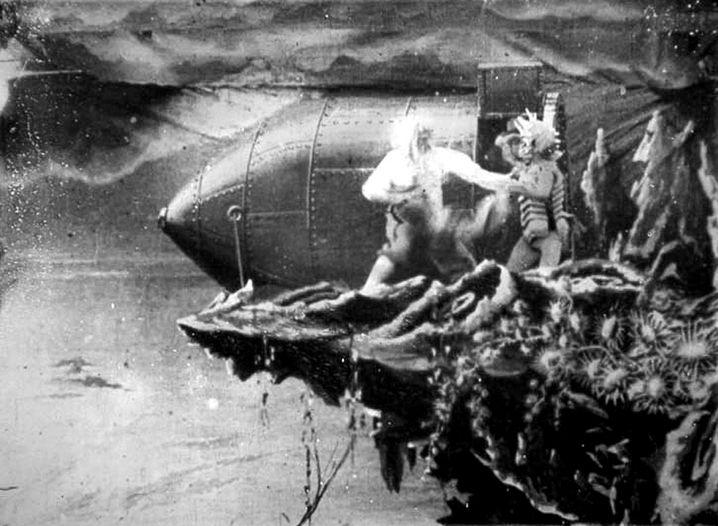 """""""Reise zum Mond"""" von Georges Melies"""