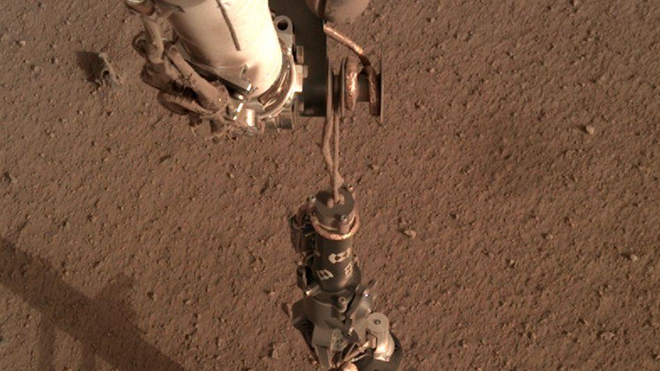 "Der Mars-Maulwurf ""HP3"""