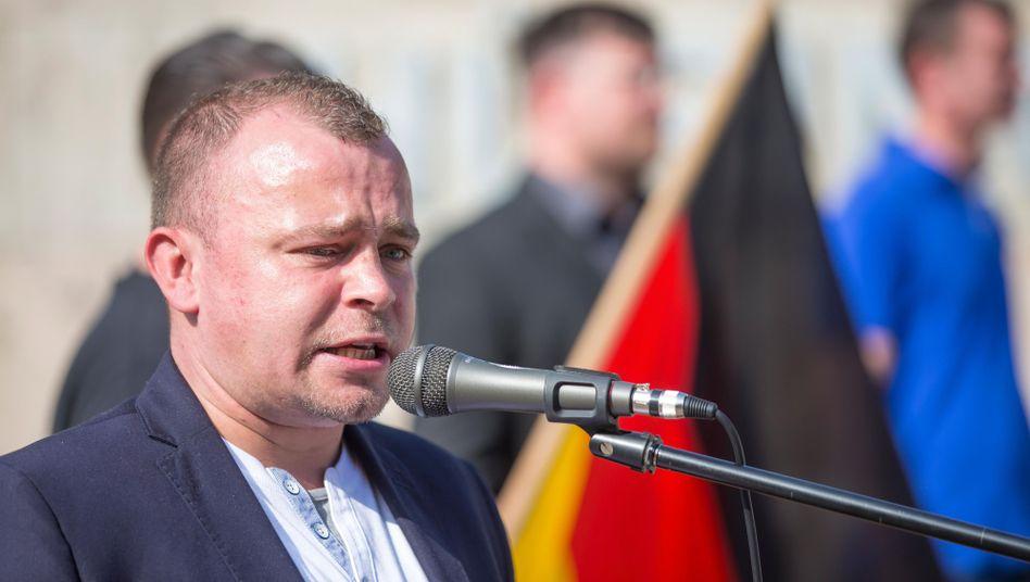 NPD-Landeschef Wieschke: Fragen zur Vergangenheit