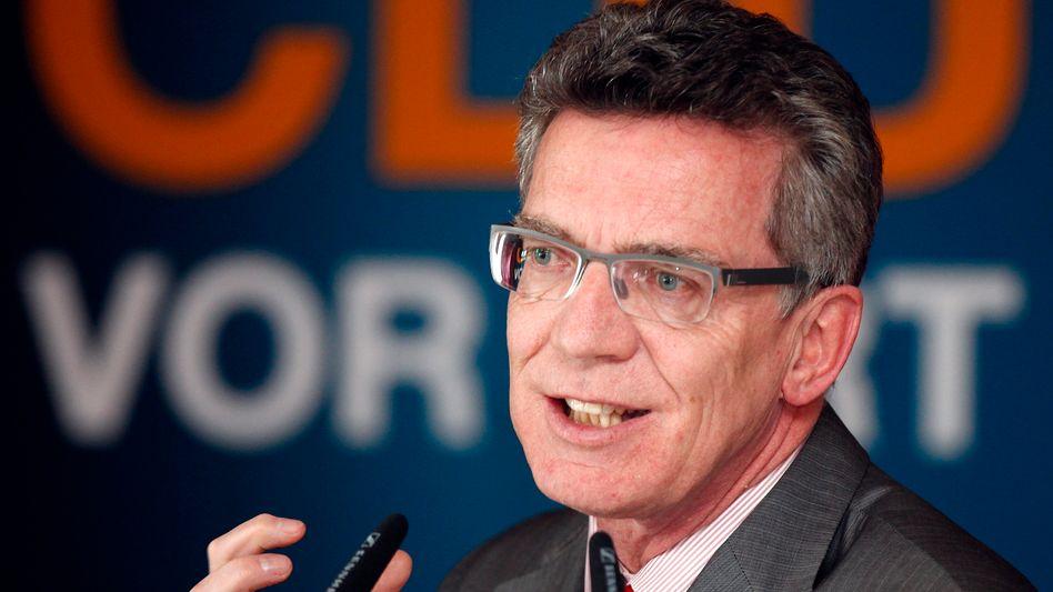 Verteidigungsminister de Maizière: Vorbereitungen der Bundeswehrreform sind unzureichend