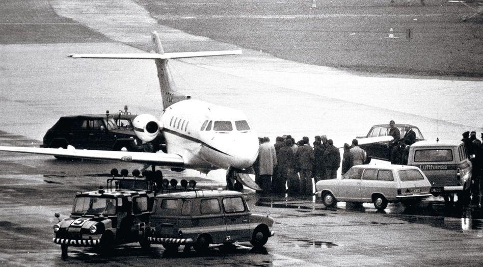 Freilassung der Olympia-Attentäter (am 29. Oktober 1972 auf dem Münchner Flughafen)