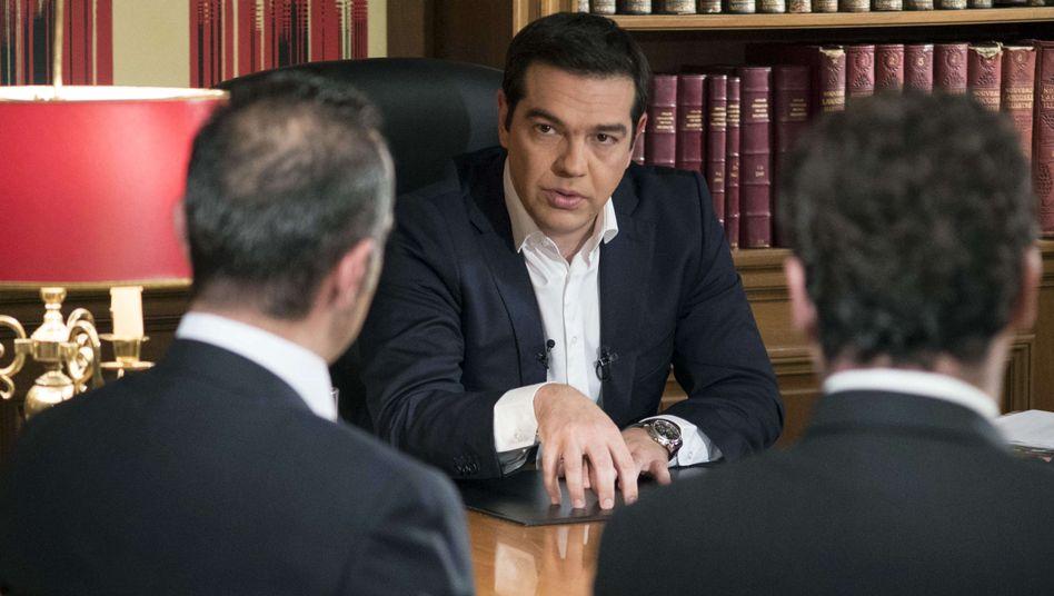 TV-Auftritt des griechischen Premiers: Tsipras wirft Gläubigern Rachsucht vor