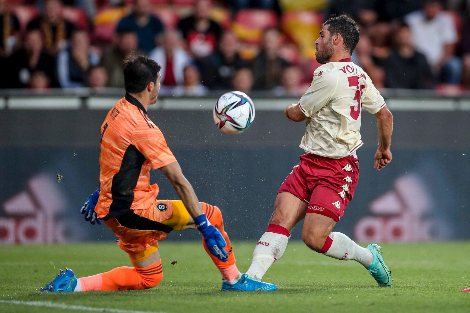 Sparta Prague vs AS Monaco