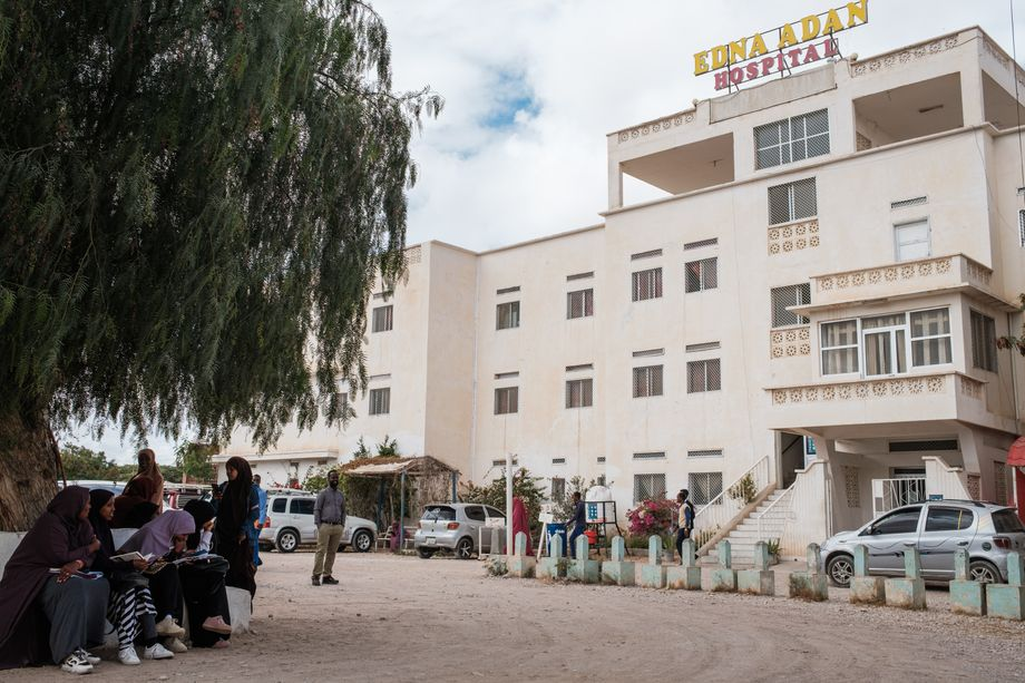 Edna Adan Hospital was built largely with private donations and received little of the traditional support given by international aid organizations.