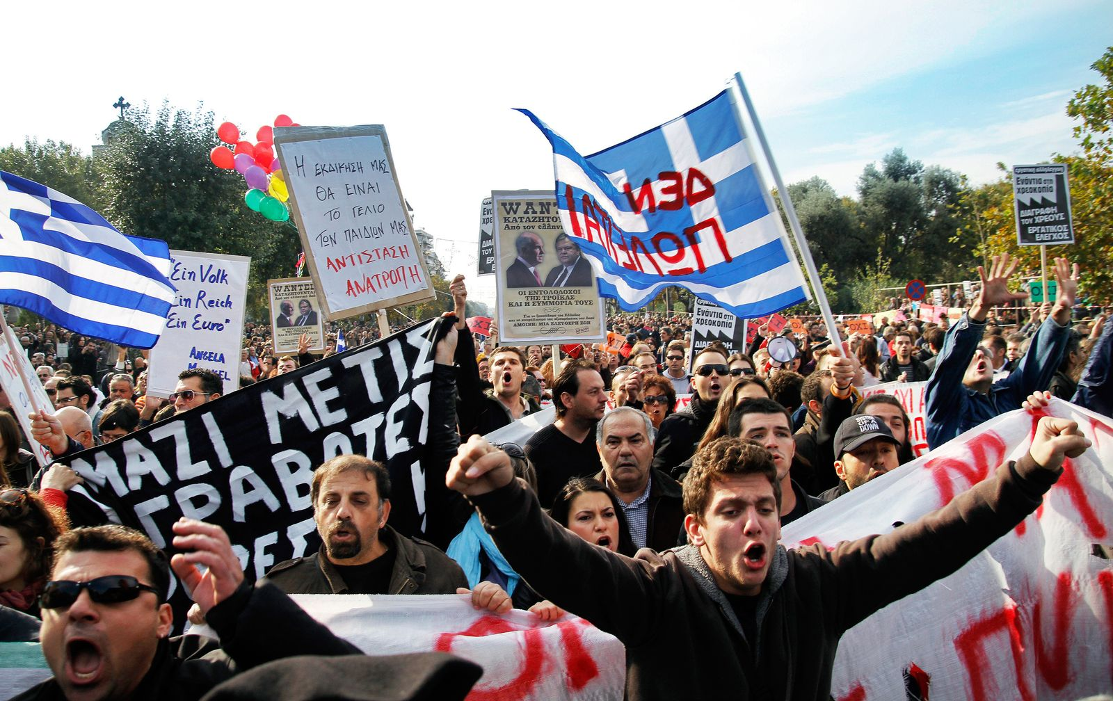 Griechenland / Finanzkrise / Protest