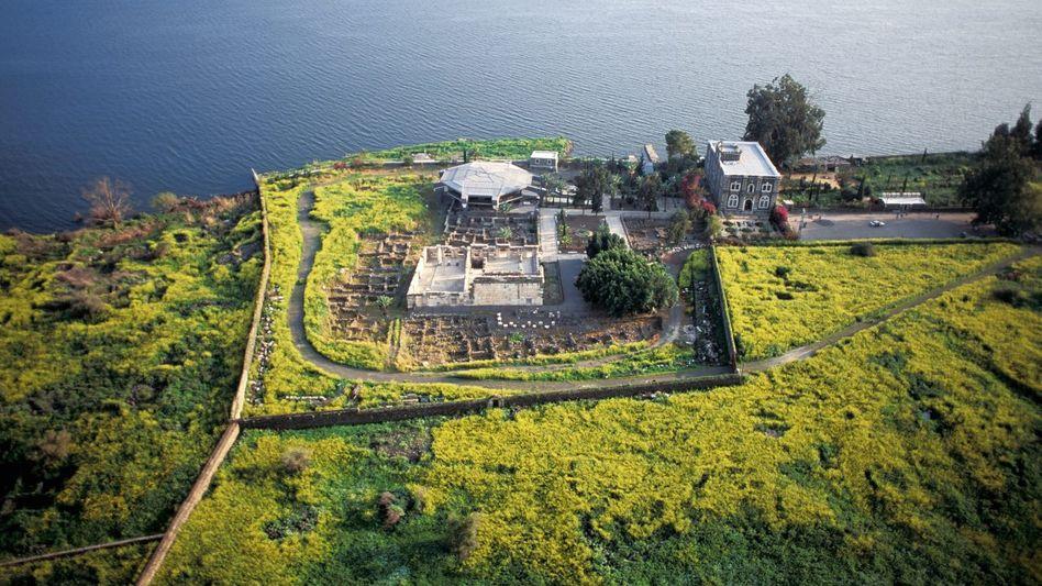 Ausgrabungsstätte Kapernaum am See Genezareth