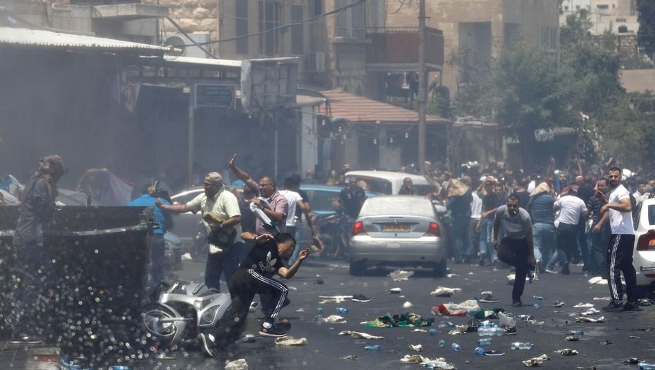 Tempelberg-Unruhen: Drei Tote und 400 Verletzte in Jerusalem