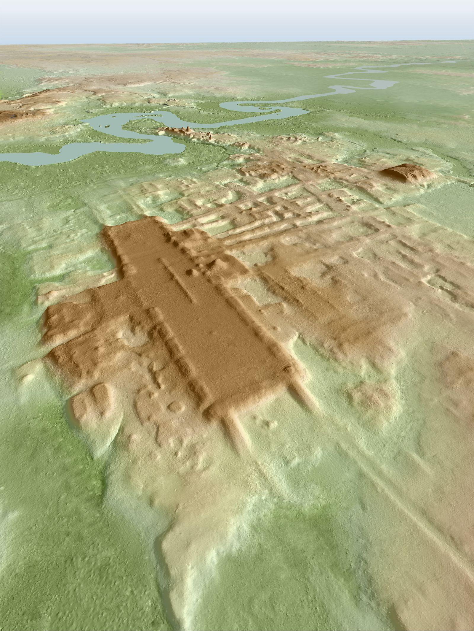Früheste Monumentalarchitektur der Maya