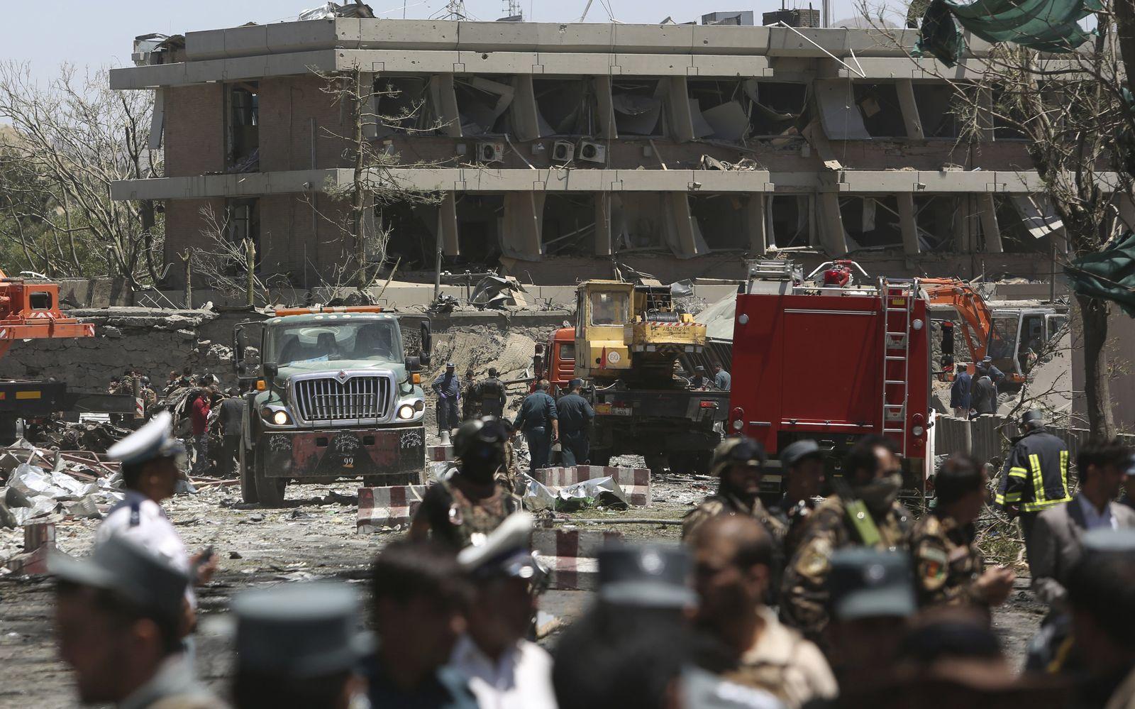 Autobombenanschlag / Kabul / deutsche botschaft