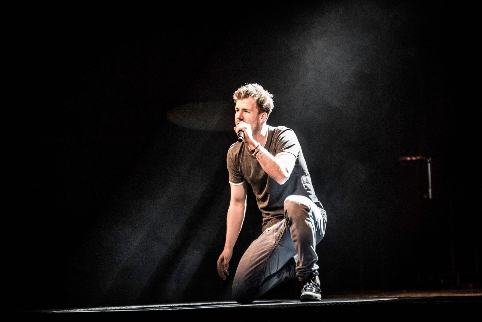 04 02 2018 Bamberg Brose Arena Luke Mockridge Lucky Man Tour 2018 Foto Luke Mockridge *** 04