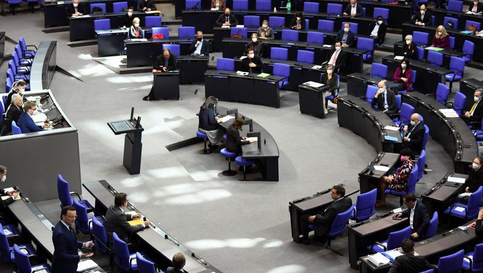 Deutscher Bundestag (Archivbild)
