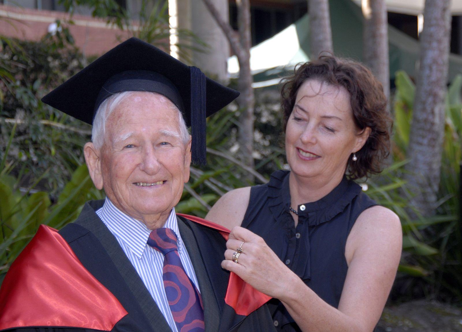 Urgroßvater / Master-Abschluss /Australien