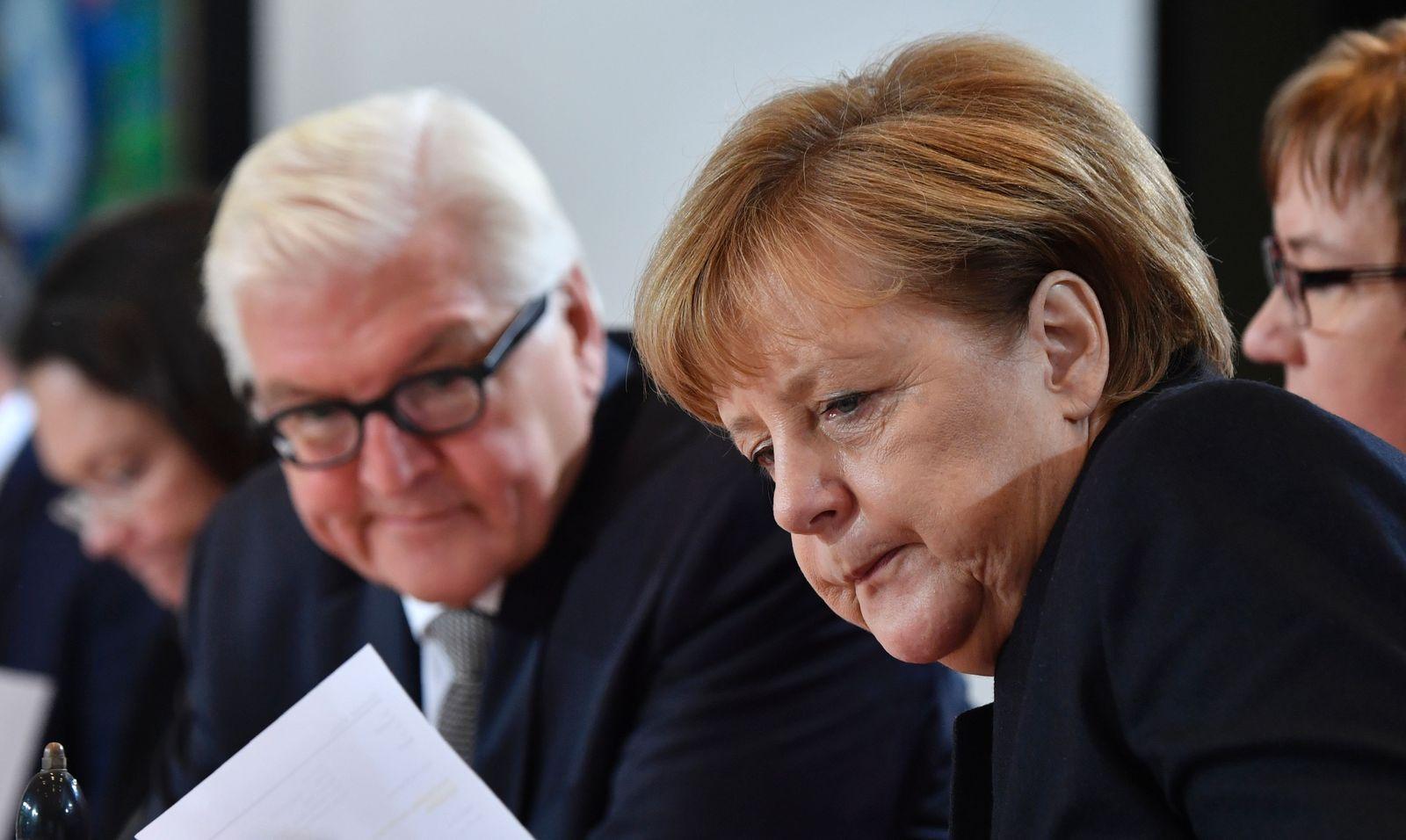 Angela Merkel / Frank-Walter Steinmeier