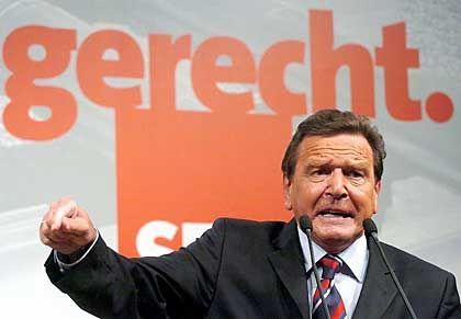 """Gerhard Schröder: """"Das kann sich kein Sozialstaat leisten"""""""