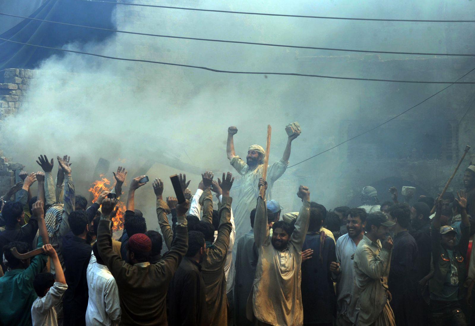 Pakistan / Lahore / Demonstration / Blasphemie