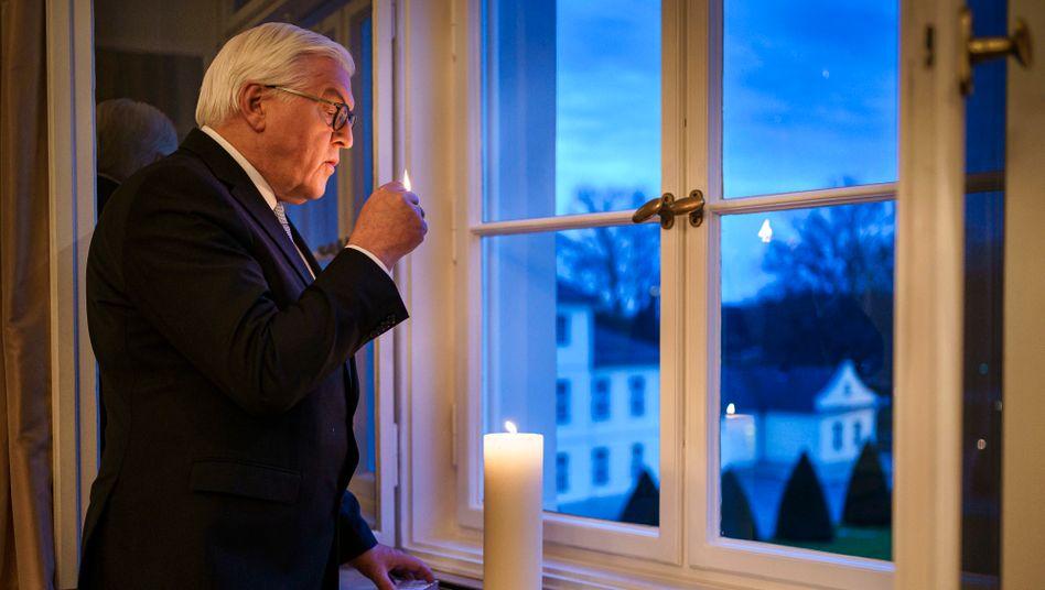 Präsident Steinmeier: »Als Gesellschaft vereint in unserer Trauer«
