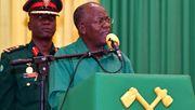 Tansanias Präsident Magufuli zum Wahlsieger erklärt