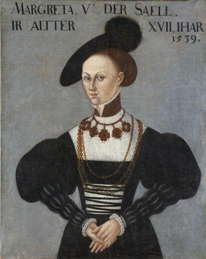 Gemälde von Margarethe von der Saale