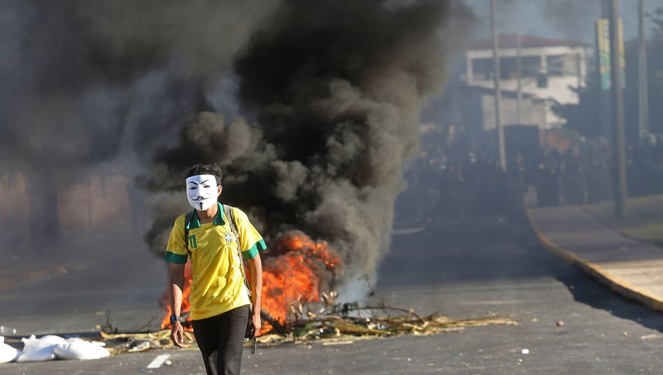 Proteste in Brasilien: Frohsinn und Fußball reichen nicht mehr