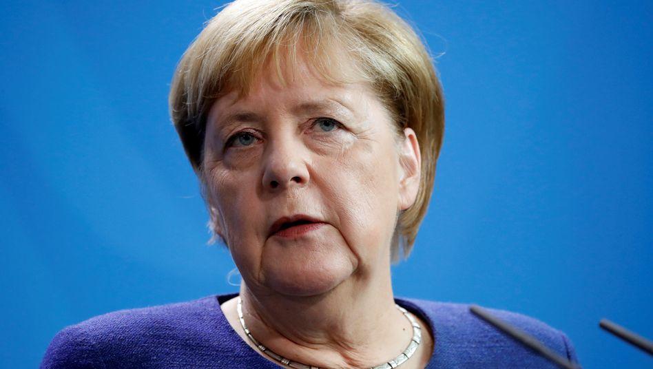 """Kanzlerin Merkel: """"Sehe keine Voraussetzungen für eine veränderte Haltung"""""""