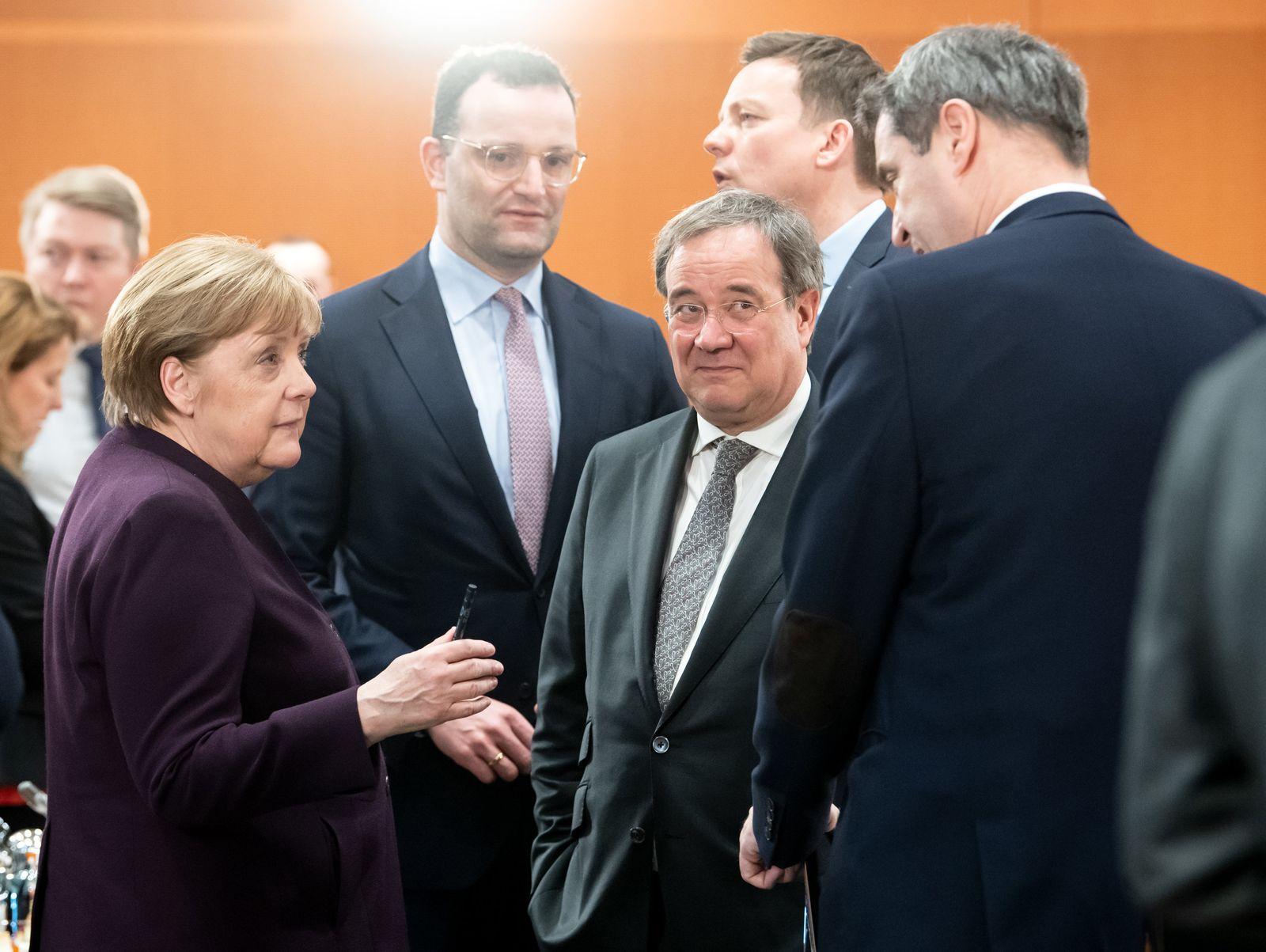 Ministerpräsidentenkonferenz trifft Bundesregierung